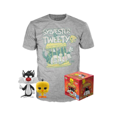 Набор Funko POP and Tee: Looney Tunes: Sylvester and Tweety (2XL) 46992