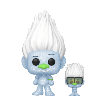 Фигурка Funko POP! Trolls: Guy Diamond with Tiny Diamond (Diamond Collection) 47004