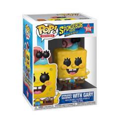 Фигурка Funko POP! Spongebob: Spongebob with Gary 47162