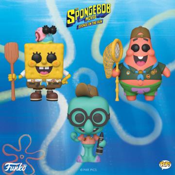 Фигурка Funko POP! Spongebob: Spongebob with Gary 47162