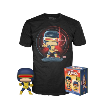 Набор Funko POP and Tee: Marvel 80th First Appearance Cyclops (XL) 47365