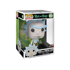 "Фигурка Funko POP! Rick and Morty: Rick with Portal Gun 10"" Inch Exclusive 47379"