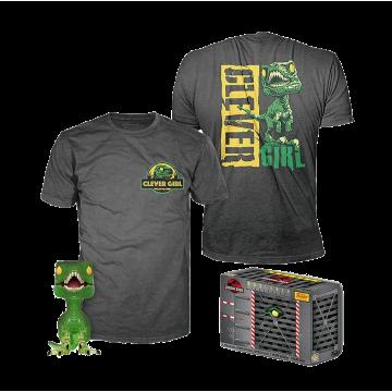Набор Funko POP and Tee: Jurassic Park: Clever Raptor (M) 47629