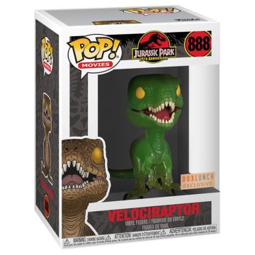 Набор Funko POP and Tee: Jurassic Park: Clever Raptor (XL) 47631