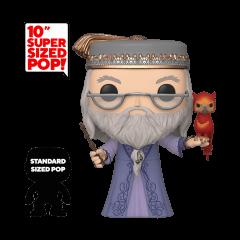 "Фигурка Funko POP! Harry Potter: 10"" Inch Dumbledore with Fawkes 48038"