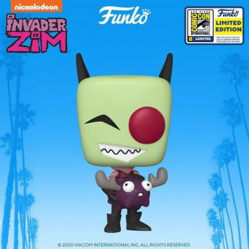 Фигурка Funko POP! Invader Zim: Zim with Minimoose Exclusive 48574