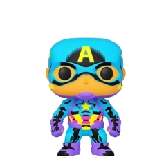 Фигурка Funko POP! Black Light: Captain America Exclusive 48845