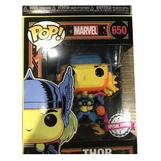 Фигурка Funko POP! Marvel: Black Light: Captain America Exclusive 48845