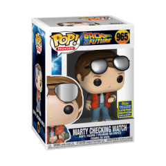 Фигурка Funko POP! Back to The Future: Marty checking Watch Exclusive 48907