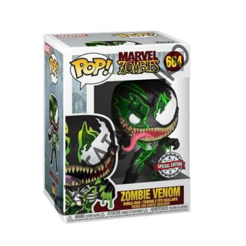 Фигурка Funko POP! Marvel Zombies: Zombie Venom Exclusive 49129