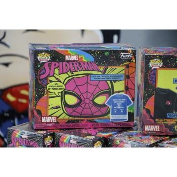 Набор Funko POP and Tee: Spider-Man Black Light (L) 49523