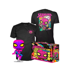 Набор Funko POP and Tee: Spider-Man Black Light (L) 49523