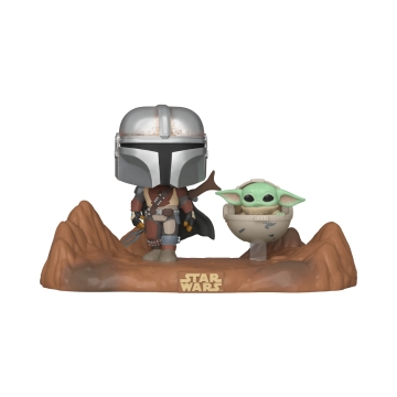 Фигурка Funko POP! Moment Star Wars: The Mandalorian: The Mandalorian and Child 49930