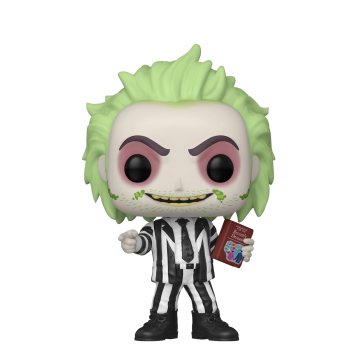 Фигурка Funko POP! Beetlejuice: Beetlejuice with Handbook Exclusive 50333
