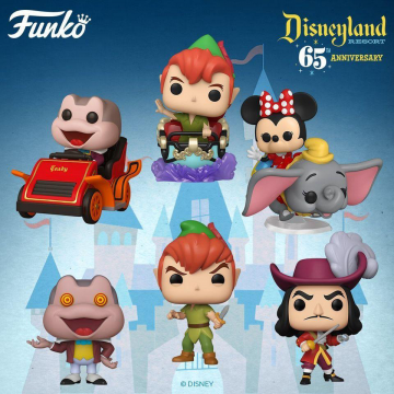 Фигурка Funko POP! Disneyland 65th Anniversary: Flyng Dumbo Ride with Minnie 50570