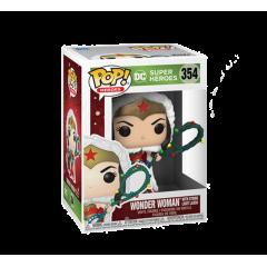 Фигурка Funko POP! Holiday: Wonder Woman with Lights Lasso 50652