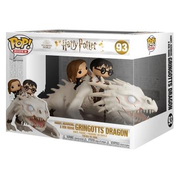 Фигурка Funko POP! Harry Potter: Dragon with Harry, Ron and Hermione 50815