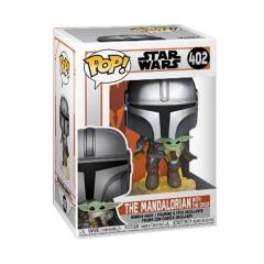 Фигурка Funko POP! Star Wars: The Mandalorian: The Mandalorian with the Child Jet 50959