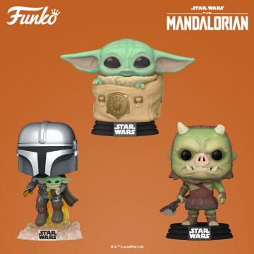 Фигурка Funko POP! Star Wars: The Mandalorian: Child with Bag 50963
