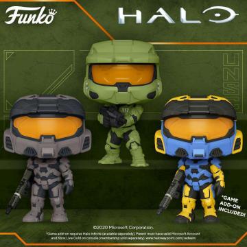 Фигурка Funko POP! Halo Infinite: Master Chief 51102