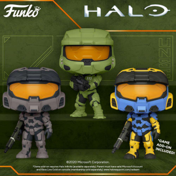 Фигурка Funko POP! Halo Infinite: Mark VII with Commando Rifle 51103
