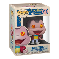 Фигурка Funko POP! Disneyland 65th Anniversary: Mr Toad Spinning Eyes 51172
