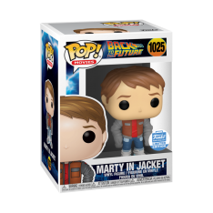 Фигурка Funko POP! Back to The Future: Marty In Jacket Exclusive 51234