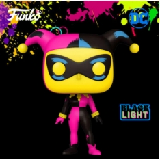Фигурка Funko POP! Black Light: Harley Quinn Exclusive 51726