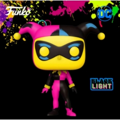 Фигурка Funko POP! Black Light: Harley Quinn Exclusive 51726