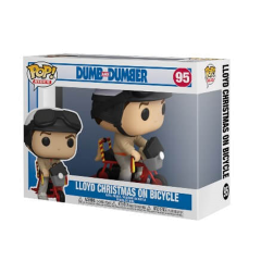 Фигурка Funko POP! Dumb and Dumber: Lloyd with Bicycle 51949