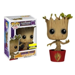 Фигурка Funko POP! Bobble: Marvel: Guardians of the Galaxy: Dancing Groot Ravagers Logo (Exclusive)