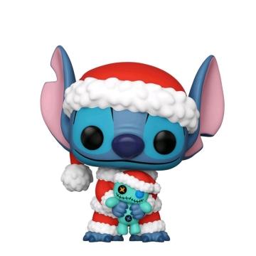 Фигурка Funko POP! Stitch: Santa Stitch with Scrump Exclusive 52252