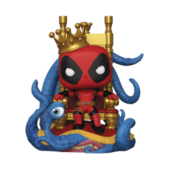 Фигурка Funko POP! Marvel Heroes: King Deadpool on Throne Exclusive 52266