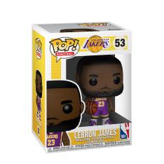 "Фигурка Funko POP! NBA: Lakers: 10"" LeBron James (Purple Jersey) 52359"