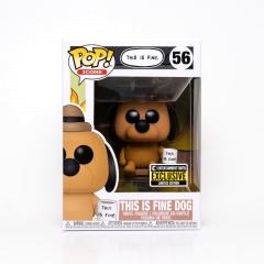 Фигурка Funko POP! Icons: This is Fine Dog Exclusive 52851