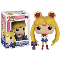 Фигурка Funko POP! Vinyl: Animation: Sailor Moon: Sailor Moon with Luna 6350