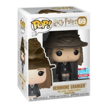 Фигурка Funko POP! Harry Potter: Hermione with Sorting Hat 69 (Exclusive)