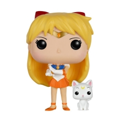 Фигурка Funko POP! Vinyl: Animation: Sailor Moon: Sailor Venus with Artemis 7300