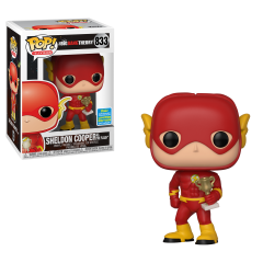 Фигурка Funko POP! Vinyl: Television: Big Bang Theory: Sheldon as Flash (2019 Summer Convention Limited Edition Exclusive) 833