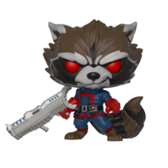 Фигурка Funko POP! Guardians of the Galaxy: Comic Rocket Raccoon Classic PX Previews Exclusive 34461