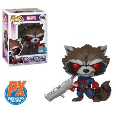 Фигурка Funko POP! Guardians of the Galaxy: Comic Rocket Raccoon Classic PX Previews Exclusive 34461