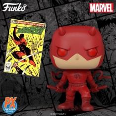 Фигурка Funko POP! Marvel: Daredevil Action Pose PX Previews Exclusive 21919