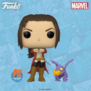 Фигурка Funko POP! X-Men: Kate Pryde with Lockheed 21920