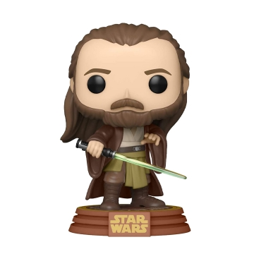 Фигурка Funko POP! Star Wars: Across The Galaxy: Qui-Gon Jinn Tattooine Exclusive 422