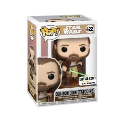 Фигурка Funko POP! Star Wars: Across The Galaxy: Qui-Gon Jinn Tattooine Exclusive 422