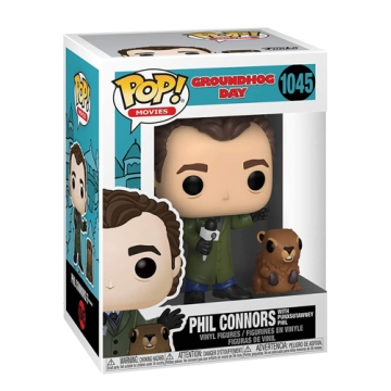 Фигурка Funko POP! Groundhog Day: Phil with Punxsutawney Phil 47240