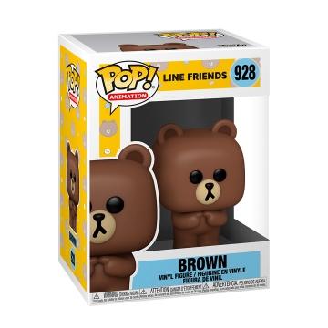 Фигурка Funko POP! Line Friends: Brown 48151