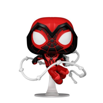 Фигурка Funko POP! Spider-Man: Miles Morales Game Crimson Cowl Suit 50155