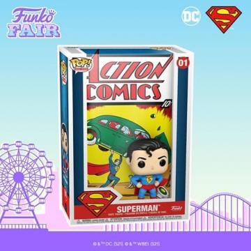 Фигурка Funko POP! Comic Covers: Superman 50468