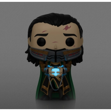 Фигурка Funko POP! Avengers Endgame: Loki with tesseract Exclusive 51288
